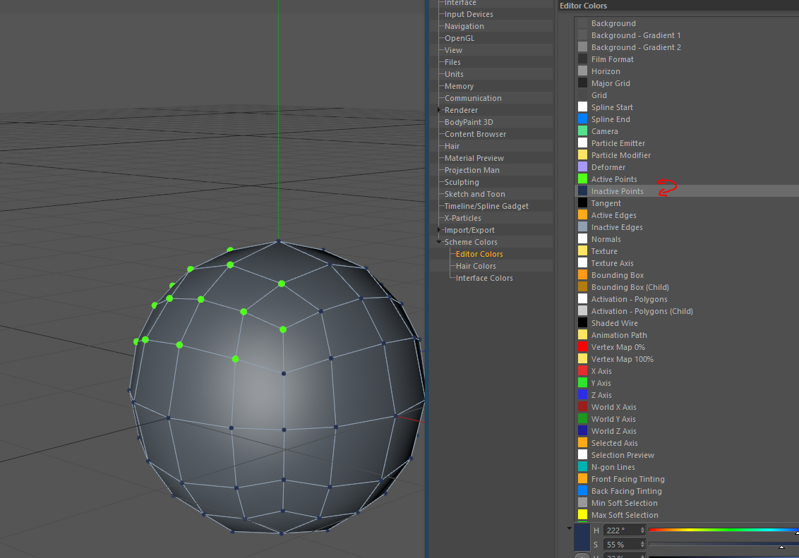 Points too small in your viewport? We can fix it! Cinema 4D