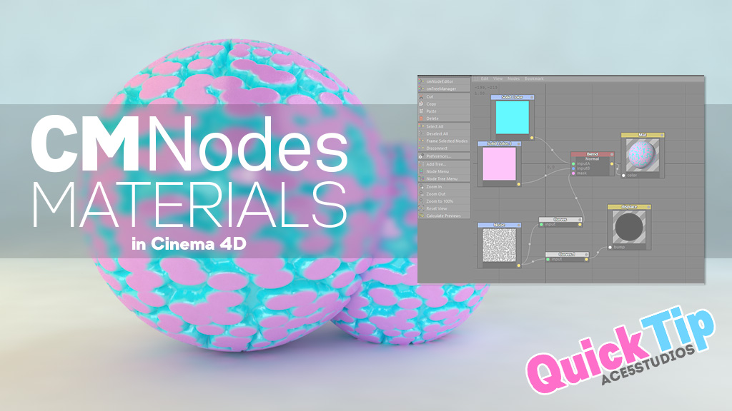 cmnodes – Cinema 4D nodes QuickTip