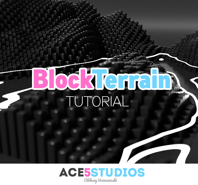 Block Terrain Cinema 4D tutorial