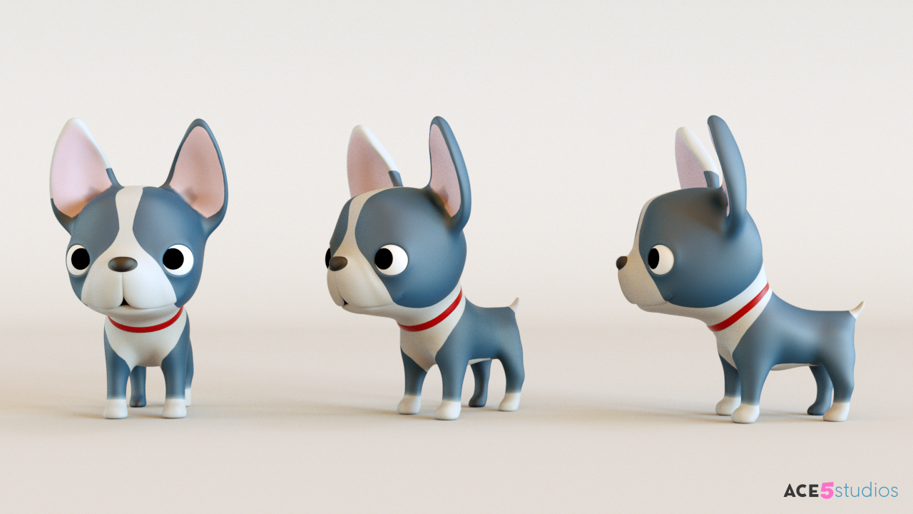 Ace5studios - C4D Rigging, Animation and Character Design