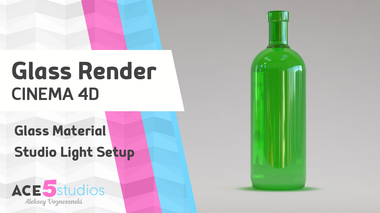 Render Glass in Cinema 4D