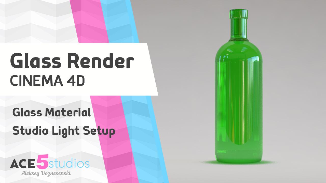 Render Glass in Cinema 4D