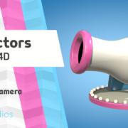 up vector aim canon tutorial cinema 4d security camera