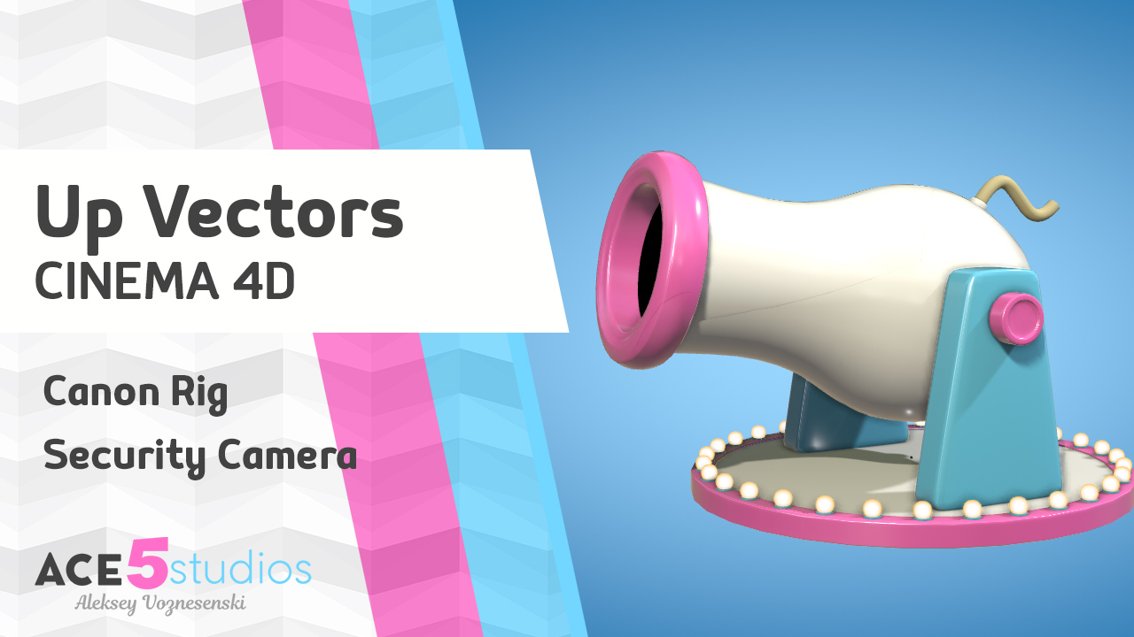 Up Vectors in Cinema4D – Cannon rigging