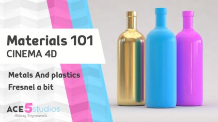 Materials 101 – Cinema4D