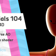 demo of skin shader with SSS in Cinema 4D