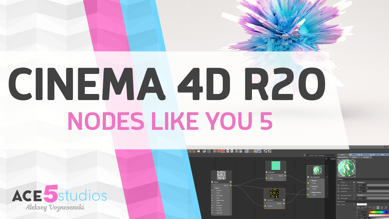Cinema4D R20 – Nodes like you're five