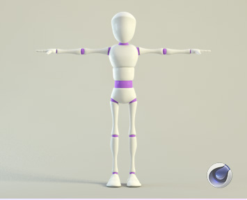 Cinema 4D rigged Characters - Free and Premium
