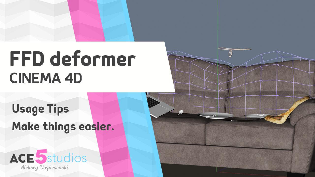 FFD deformer tips