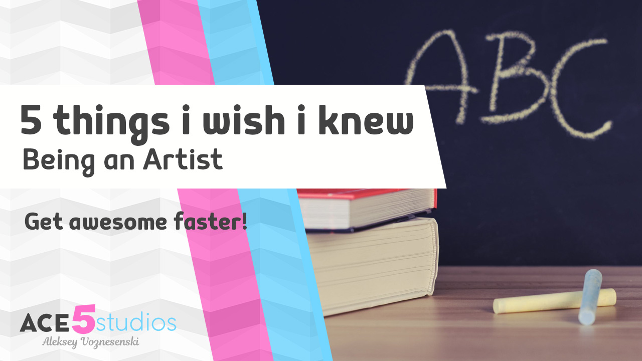 5 things i wish i knew when i was starting out as a 3D artist