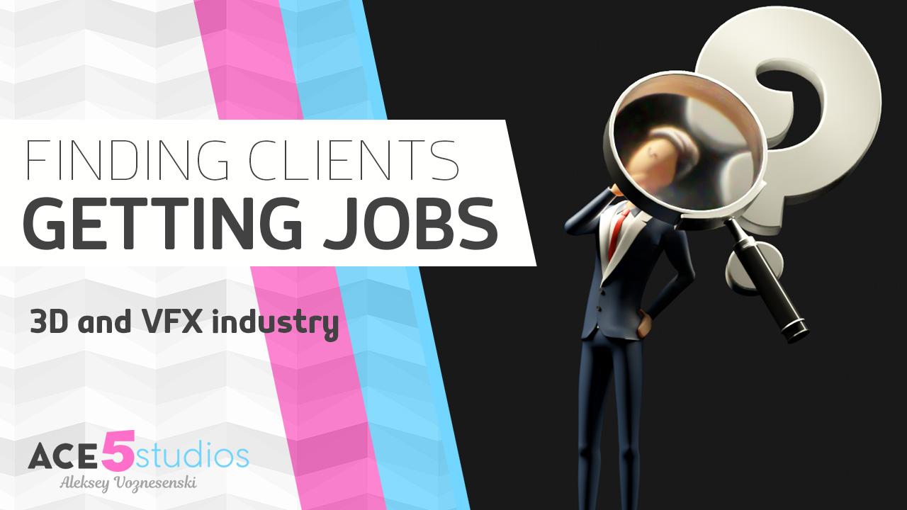 How to get jobs as a Freelancer ( 3D artist)