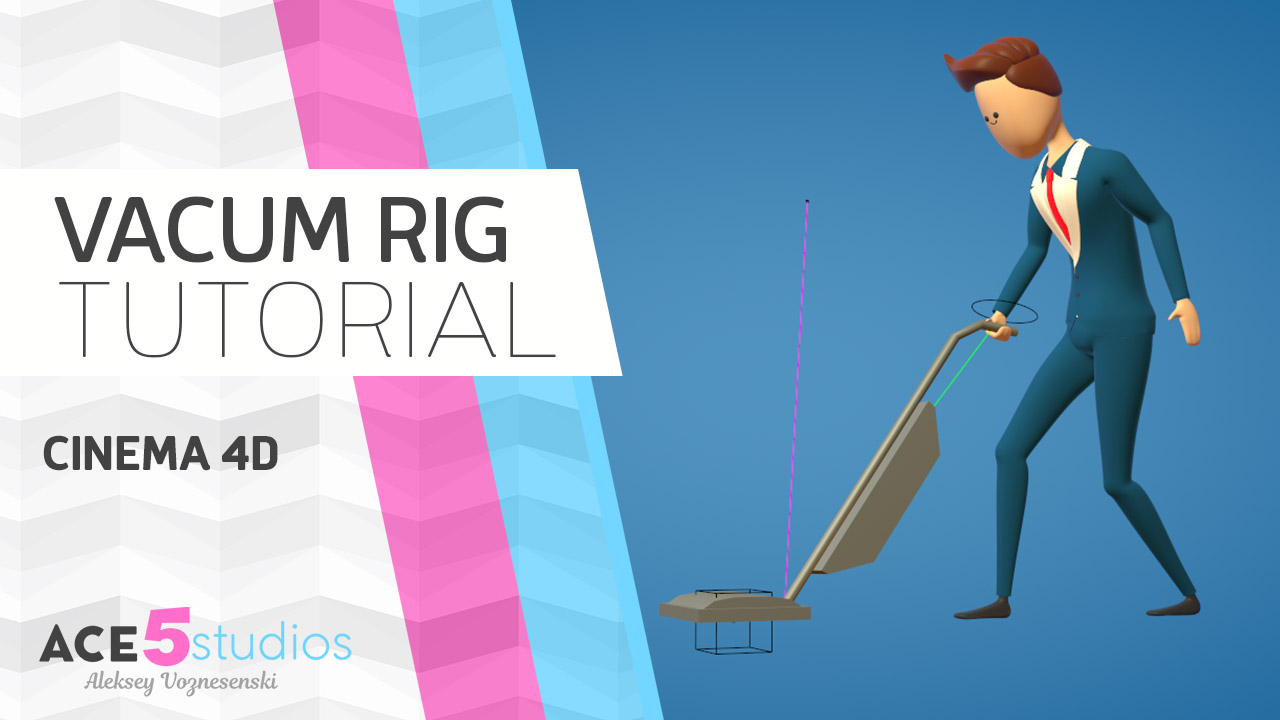 Vacuum Rigging- Cinema4D tutorial