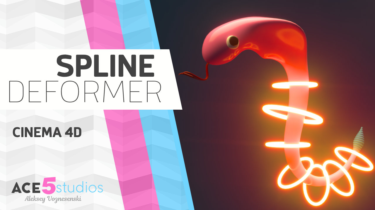 Spline Wrap Deformer Tutorial Part 1