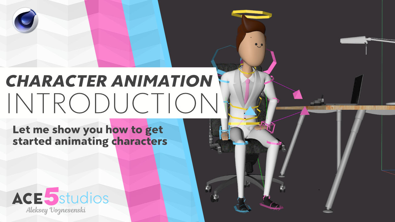 Intro to Character Animation in Cinema4D