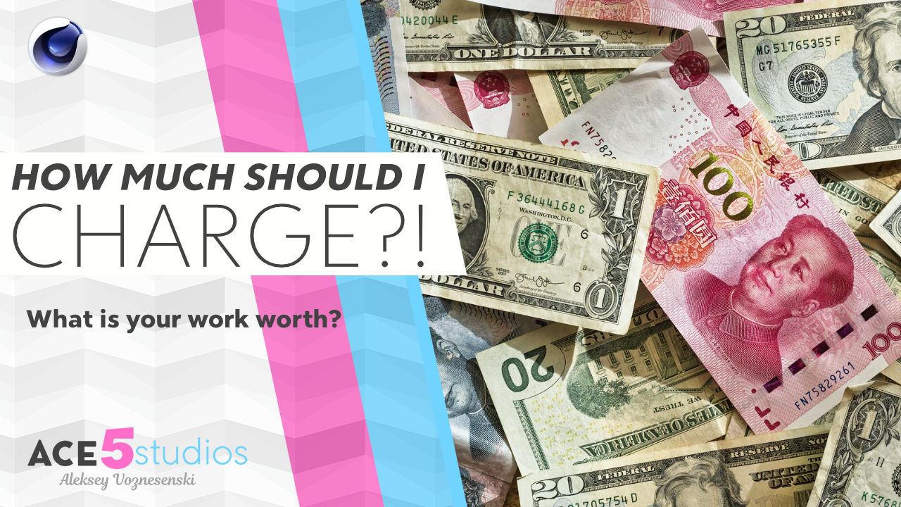 how much should i charge for mograph vfx jobs