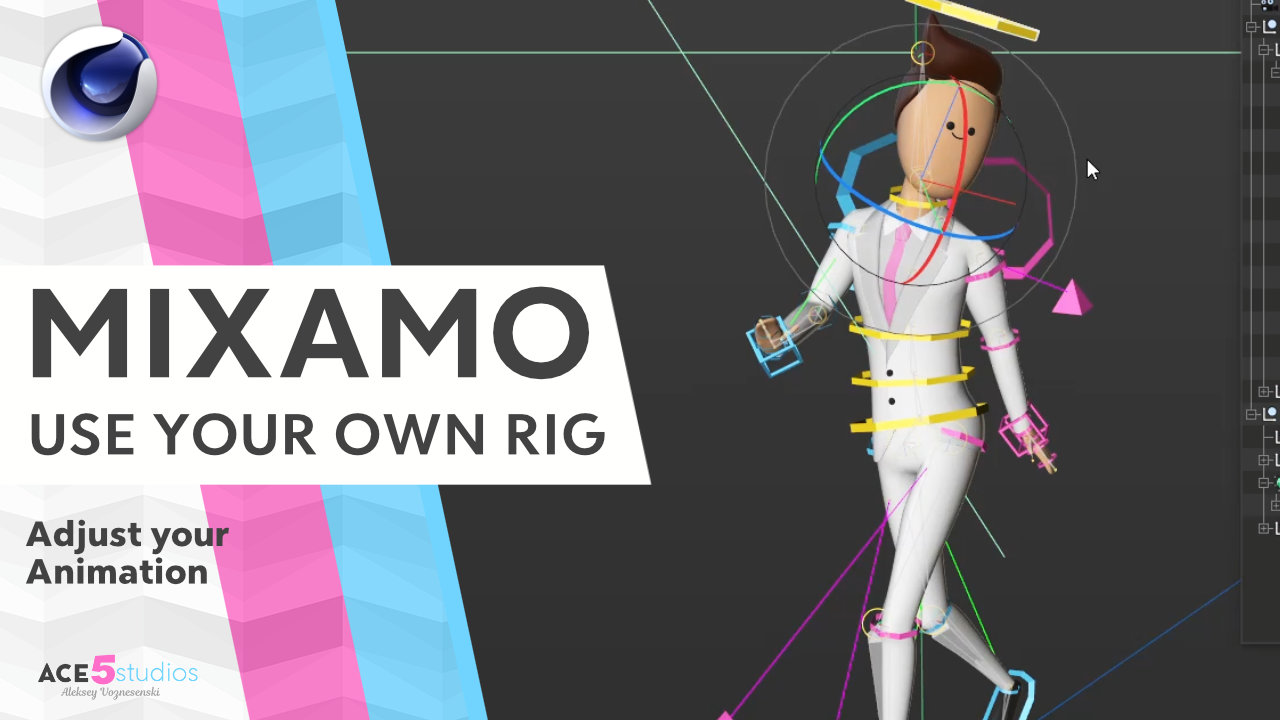 Use your own rig with Mixamo