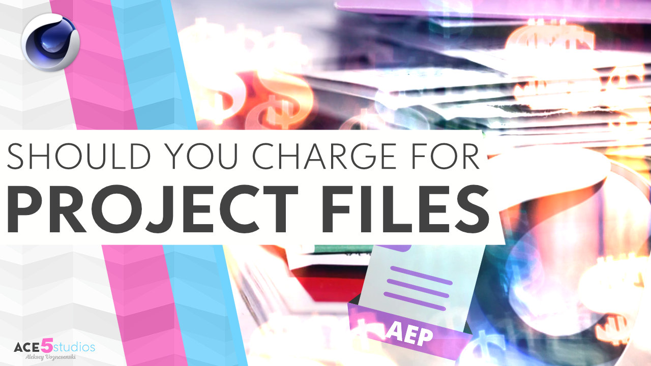 Should you charge for project files?