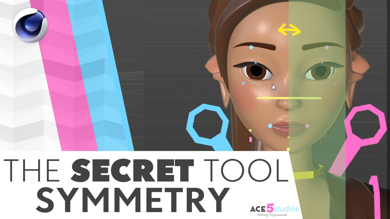 Secret Symmetry tools that Maxon doesn't want you to know about!