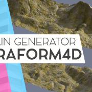 terrain generation generator c4d cinema 4d plugin terraform4d terra
