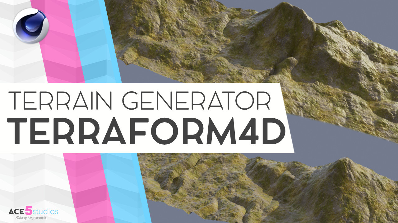 Terraform 4D – make awesome terrains in C4D! Plugin review