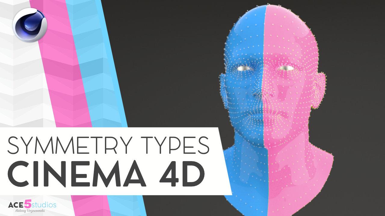 5 Types of Symmetry in Cinema 4D